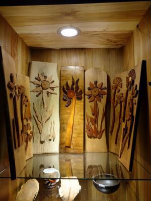flores de madera nativa